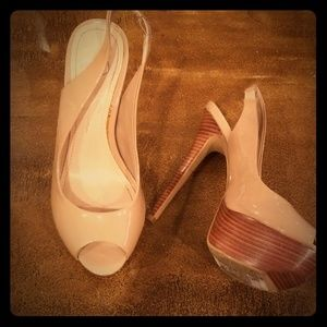 Tan Jessica Simpson Heels size 6 (36)